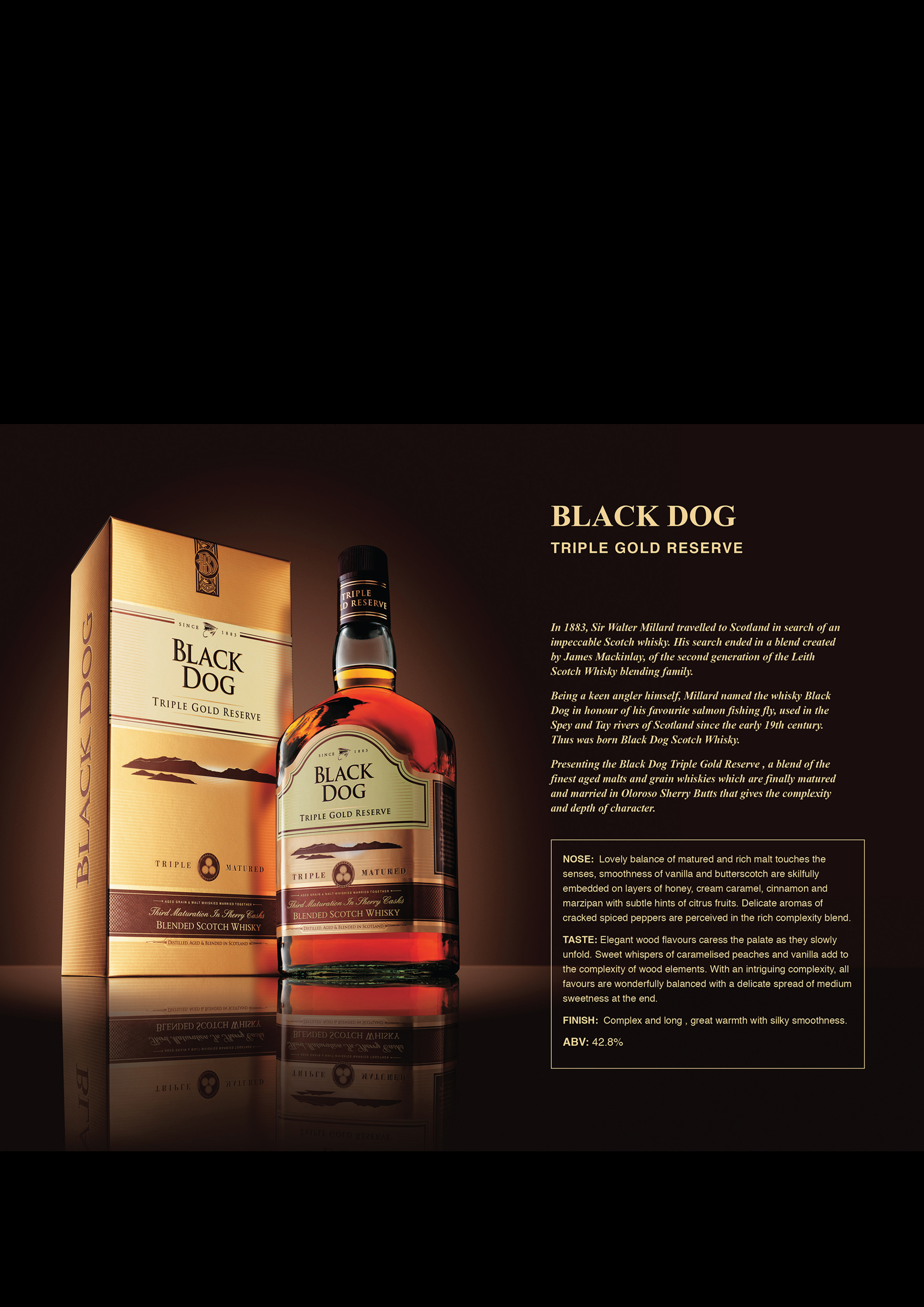Black Dog Centenary Blended Whisky Tasting Note