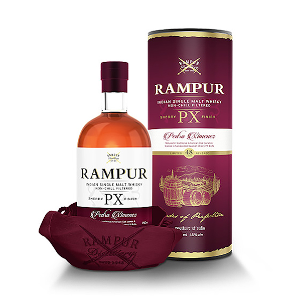 Rampur Indian Single Malt - Sherry PC Finish