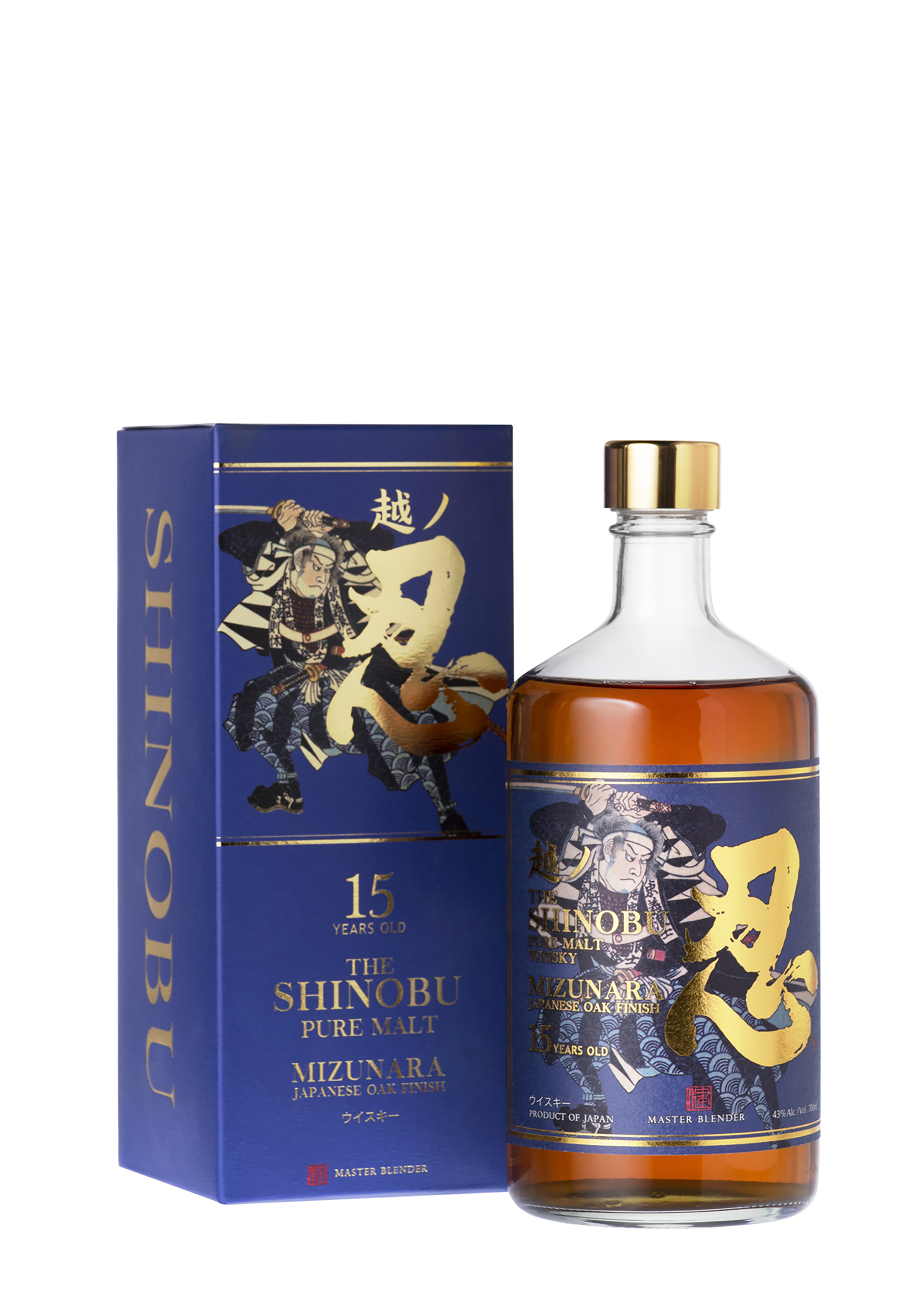 Shinobu 15 Years Old Pure Malt