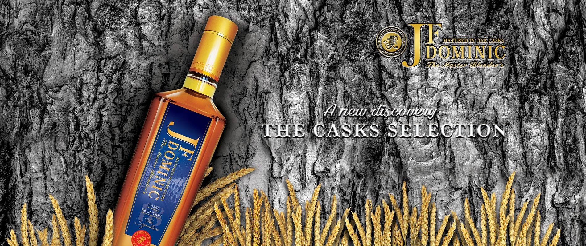JF Dominic Casks Selections The Master Blender's of Premium Selection